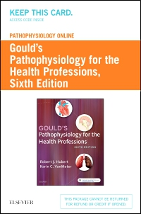 cover image - Pathophysiology Online for Gould's Pathophysiology for the Health Professions (Access Code),6th Edition
