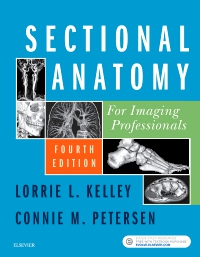 cover image - Sectional Anatomy for Imaging Professionals,4th Edition