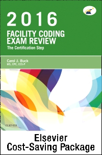 cover image - Facility Coding Exam Review 2016 - Elsevier eBook on VitalSource + Evolve Access (Retail Access Cards)