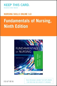 cover image - Nursing Skills Online Version 3.0 for Fundamentals of Nursing,9th Edition