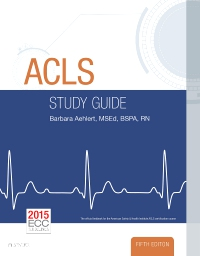 cover image - ACLS Study Guide - Elsevier eBook on VitalSource,5th Edition