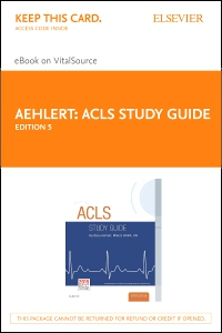 cover image - ACLS Study Guide - Elsevier eBook on VitalSource (Retail Access Card),5th Edition