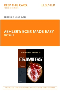 cover image - ECGs Made Easy - Elsevier eBook on VitalSource (Retail Access Card),6th Edition