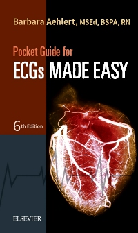 cover image - Pocket Guide for ECGs Made Easy- Elsevier eBook on VitalSource,6th Edition