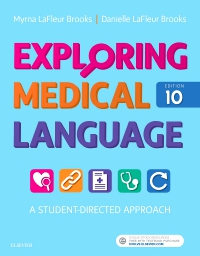 cover image - Evolve Resources for Exploring Medical Language,10th Edition