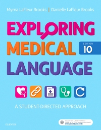 cover image - Medical Terminology Online with Elsevier Adaptive Learning for Exploring Medical Language,10th Edition