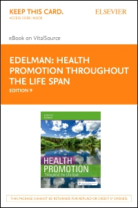 cover image - Health Promotion Throughout the Life Span - Elsevier eBook on VitalSource (Retail Access Card),9th Edition