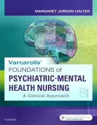 cover image - Evolve Resources for Varcarolis' Foundations of Psychiatric-Mental Health Nursing,8th Edition