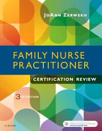 cover image - Family Nurse Practitioner Certification Review,3rd Edition