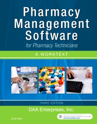 cover image - Pharmacy Management Software for Pharmacy Technicians: A Worktext,3rd Edition