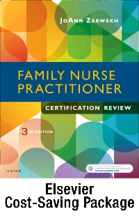 cover image - Family Nurse Practitioner Certification Reviewer - Elsevier eBook on VST + Evolve (Retail Access Cards),3rd Edition