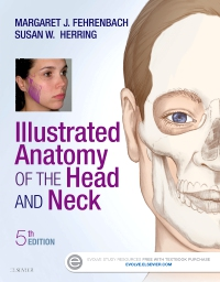 cover image - Illustrated Anatomy of the Head and Neck - Elsevier eBook on VitalSource,5th Edition