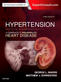 cover image - Hypertension: A Companion to Braunwald's Heart Disease,3rd Edition