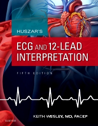 cover image - Huszar's ECG and 12-Lead Interpretation - Elsevier eBook on VitalSource,5th Edition