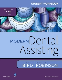 cover image - Student Workbook for Modern Dental Assisting,12th Edition