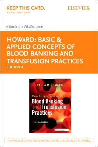 cover image - Basic & Applied Concepts of Blood Banking and Transfusion Practices - Elsevier eBook on VitalSource (Retail Access Card),4th Edition