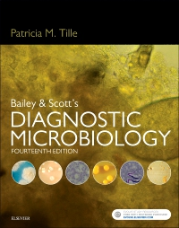 cover image - Bailey & Scott's Diagnostic Microbiology - Elsevier eBook on VitalSource,14th Edition