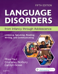 cover image - Language Disorders from Infancy through Adolescence,5th Edition