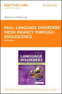 cover image - Language Disorders from Infancy Through Adolescence - Elsevier eBook on VitalSource (Retail Access Card),5th Edition