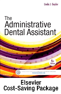 cover image - The Administrative Dental Assistant - Text and Workbook Package,4th Edition