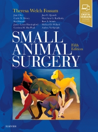 cover image - Small Animal Surgery,5th Edition