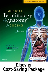 cover image - Medical Terminology Online for Medical Terminology & Anatomy for Coding (Access Code and Textbook Package),3rd Edition