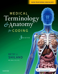 cover image - Medical Terminology & Anatomy for Coding - Elsevier eBook on VitalSource,3rd Edition
