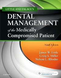 cover image - Little and Falace's Dental Management of the Medically Compromised Patient,9th Edition