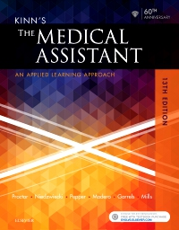 cover image - Evolve Resources for Kinn's The Medical Assistant,13th Edition