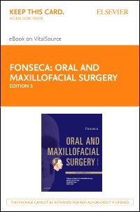 cover image - Oral and Maxillofacial Surgery - Elsevier eBook on VitalSource (Retail Access Card),3rd Edition