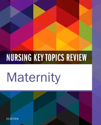 cover image - Nursing Key Topics Review: Maternity