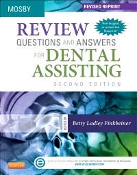 cover image - Review Questions and Answers for Dental Assisting - Elsevier eBook on VitalSource - Revised Reprint,2nd Edition