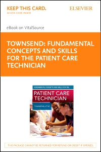 cover image - Fundamental Concepts and Skills for the Patient Care Technician - Elsevier eBook on VST (Retail Access Card)