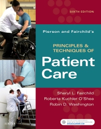 cover image - Pierson and Fairchild's Principles & Techniques of Patient Care - Elsevier eBook on VitalSource,6th Edition