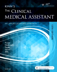 cover image - Kinn's The Clinical Medical Assistant - Elsevier eBook on VitalSource,13th Edition
