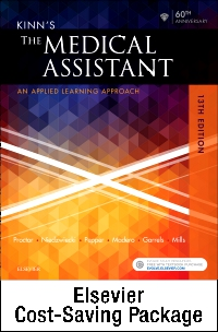 cover image - Kinn's The Medical Assistant - Text, Study Guide and Checklist, and SimChart for the Medical Office Package,13th Edition