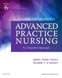 cover image - Hamric and Hanson's Advanced Practice Nursing,6th Edition
