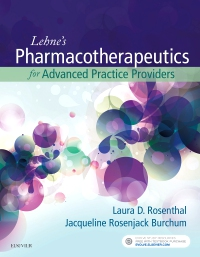 cover image - Lehne's Pharmacotherapeutics for Advanced Practice Providers - Elsevier eBook on VitalSource (Retail Access Card)