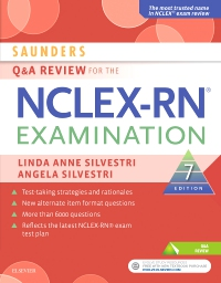 cover image - Saunders Q & A Review for the NCLEX-RN® Examination - Elsevier eBook on VitalSource,7th Edition
