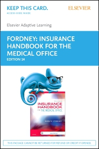 cover image - Adaptive Learning for Insurance Handbook for the Medical Office (Access Card),14th Edition