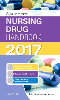 cover image - Saunders Nursing Drug Handbook 2017 - Elsevier eBook on VitalSource