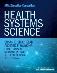 cover image - Health Systems Science