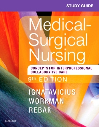 cover image - Study Guide for Medical-Surgical Nursing,9th Edition