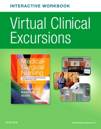 cover image - Virtual Clinical Excursions Online eWorkbook for Medical-Surgical Nursing,9th Edition