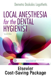 cover image - Local Anesthesia for the Dental Hygienist - Text and Local Anesthesia Procedures Videos Access Card Package,2nd Edition