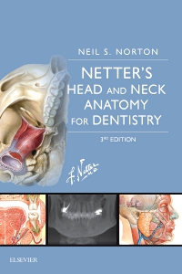 cover image - Netter's Head and Neck Anatomy for Dentistry Elsevier eBook on VitalSource,3rd Edition