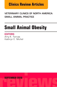 cover image - Small Animal Obesity, An Issue of Veterinary Clinics of North America: Small Animal Practice