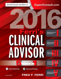 cover image - Ferri's Clinical Advisor 2016 - Elsevier eBook on VitalSource