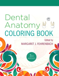 cover image - Dental Anatomy Coloring Book,3rd Edition