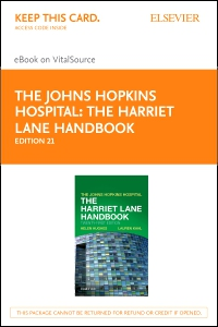 cover image - The Harriet Lane Handbook - Elsevier eBook on VitalSource (Retail Access Card),21st Edition